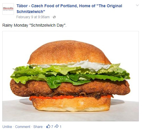 Facebook - Tabor - Feb 9