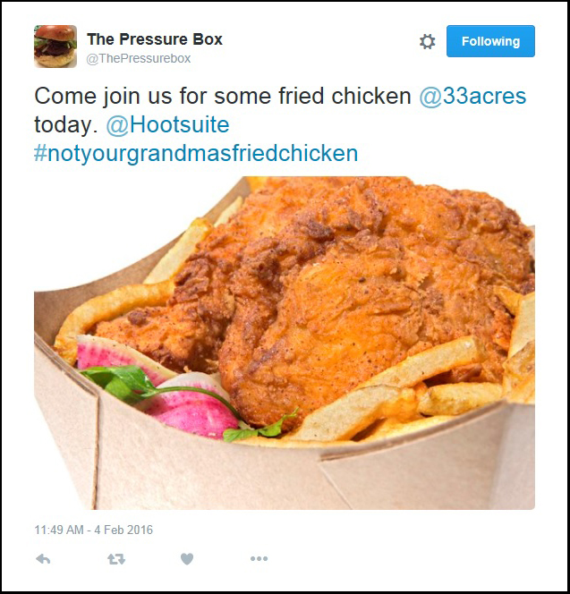 Tweet - The Pressure Box - Feb 4.16